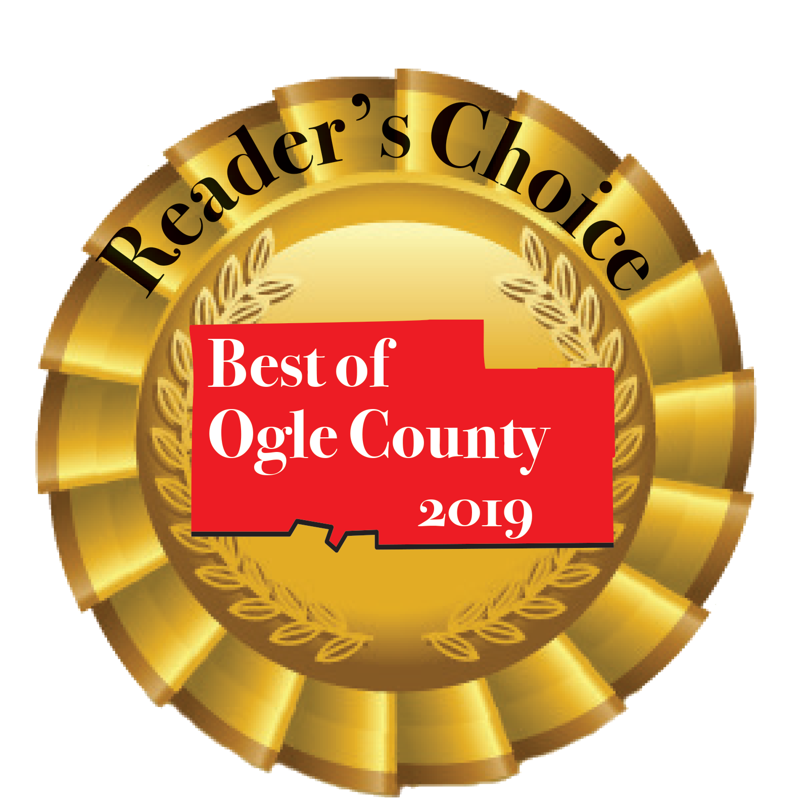 Best PT Ogle County Award 2019 Seal